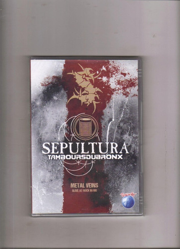 Dvd Sepultura Tamboursdubronx Alive At Rock In Rio, Lacrado Original