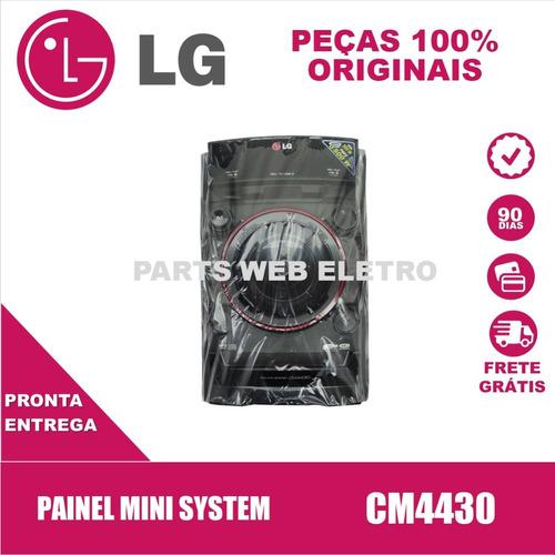 Painel Mini System LG Cm4430 - Agl74120502 Original