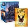 Kit Harry Potter 1 Livro Ilustrado Pedra Filosofal