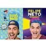 Livro Novo Luccas Neto Felipe Neto Vol 2 (2 Livros)