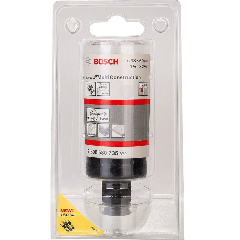 Serra Copo Multi Construction - 2 608 580 735 - Bosch - 38mm - 1.1/2""