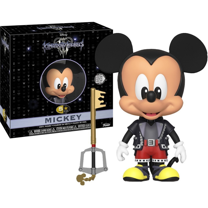 Mickey 5 Star Vinyl Figure Funko - Kingdom Hearts 3 - Disney
