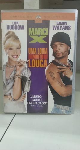 Marci X -uma Loira Muito Louca -comédia -dvd Original