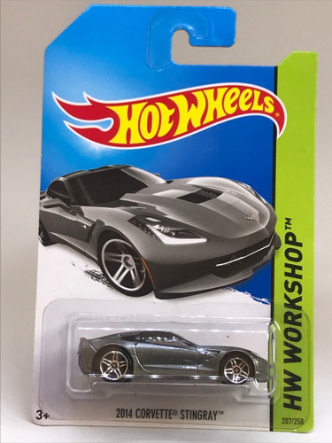Hot Wheels 2014 Corvette Stingray - Bfd78 - Lacrado Original