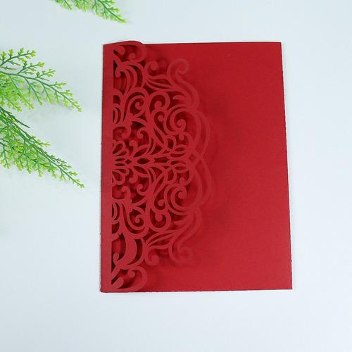10 Envelopes Para Convites Renda 3 Partes Original