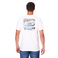 Camiseta Long Island Classic Branca