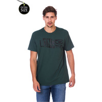 Camiseta Long Island Plus Size Verde