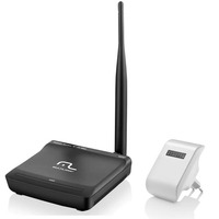 Kit Roteador Wireless 150 Mbps Com Antena e Repetidor de Sinal AC750 Mpbs Multilaser