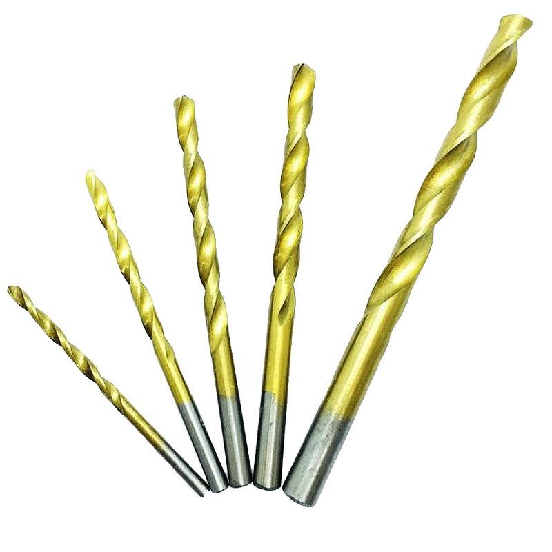 Jogo de Brocas para Metal 5 Peças 3, 4, 5, 6 e 8mm - 723839 - MTX