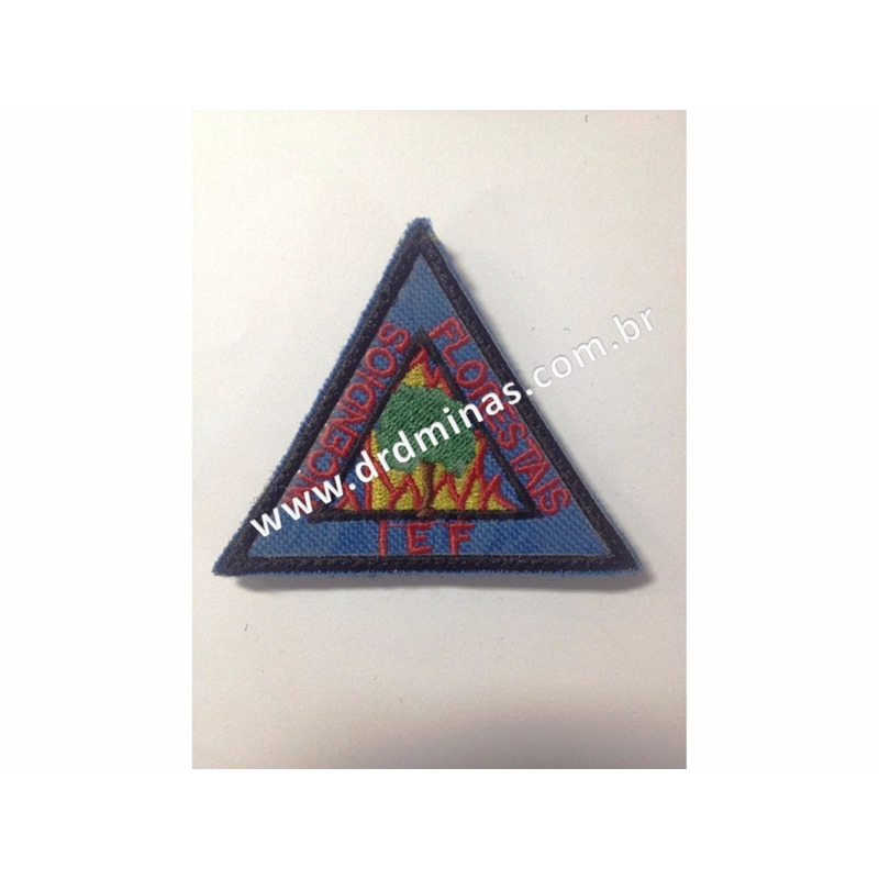 Patch / Distintivo Bordado IEF - I