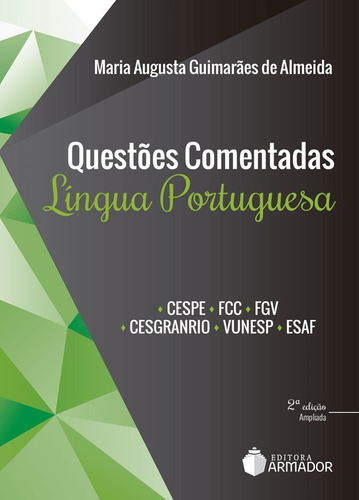 Questões Comentadas  Lingua Portuguesa (2018) Original