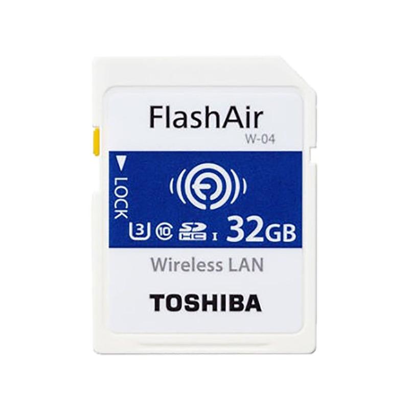 Toshiba Cartão SDHC 32Gb FlashAir W-04  4K 8347
