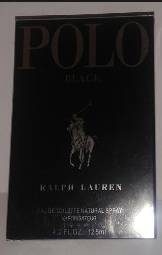 Perfume Masculino Polo Black Edt 125ml Original Cx Lacrada