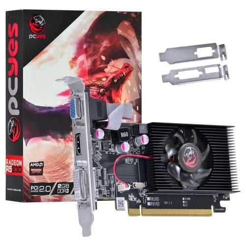 Placa De Video Amd Radeon R5 230 2gb Ddr3 64 Bits Hdmi Vga Original