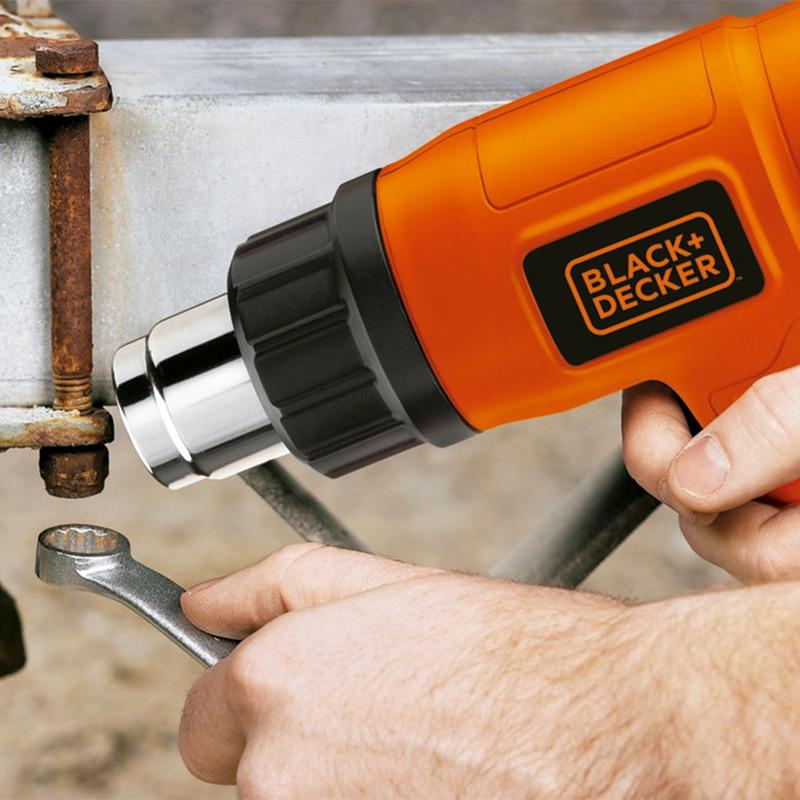 Soprador Térmico 2 Estágios 1500W Black+Decker  HG1500