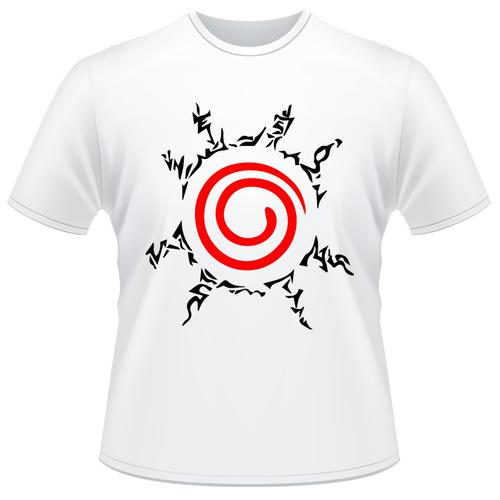 Camiseta Naruto Shippuden - Selo Kyuubi Anime