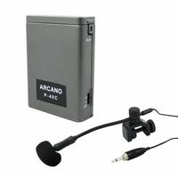 Microfone Condensador Arcano Fd-1001b C/ Alimentador D Corpo