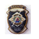 Patch / Distintivo Bordado Agente I