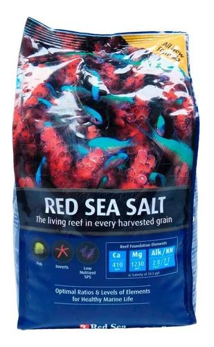 Red Sea Salt 2kg Sal Para Aquário Marinho Faz 60l De Água Original