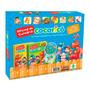 Coleção Oficina De Culinária Do Cocoricó 2 Livros Dvd