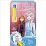 Aquabook Frozen 2 Disney Pinta Com Água Livro Capa Dura