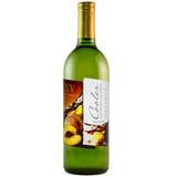 Cooler de Vinho Branco com suco de Pêssego 720ml - XV de Novembro