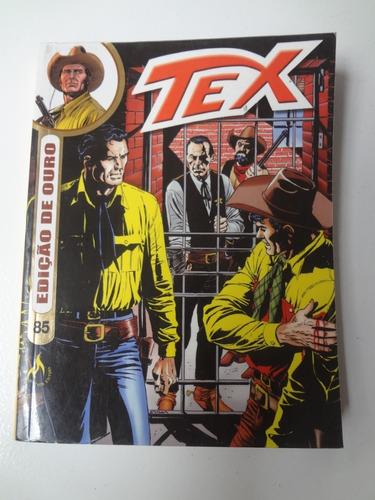 Tex Edição De Ouro N° 85 Original