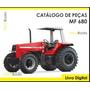 Catálogo De Peças Trator Massey Ferguson Mf 680