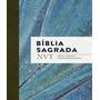 Biblia Sagrada Nvt Azul Claro Letra Normal/brochura