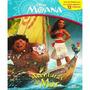 Livro Miniatura Moana Aventuras No Mar