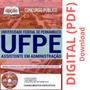Apostila Concurso Ufpe 2019