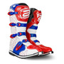 Bota Motocross Trilha Asw Core Branco Vermelho 12 (43/44)