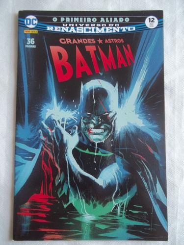 Gibi Hq Grandes Astros Batman O Primeiro Aliado Parte 3 Ótim Original