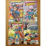 Hq, superman:the Battle For Metropolis em 4 Eds Dc em Inglês