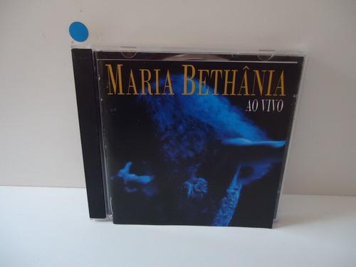 Cd Maria Bethânia- Ao Vivo - By Trekus Vintage Original