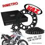Kit Relação Xre300 Vaz Corrente Com Retentor H03974x