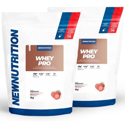 Combo 2 Whey Pro 1kg Newnutrition Original