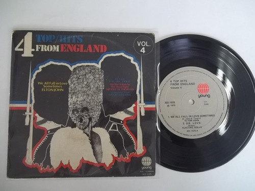 Vinil Compacto Ep - 4 Top Hits From England - Vol. 4 Original