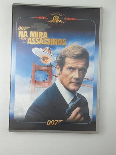 Dvd 007 Na Mira Dos Assassinos Roger Moore Original