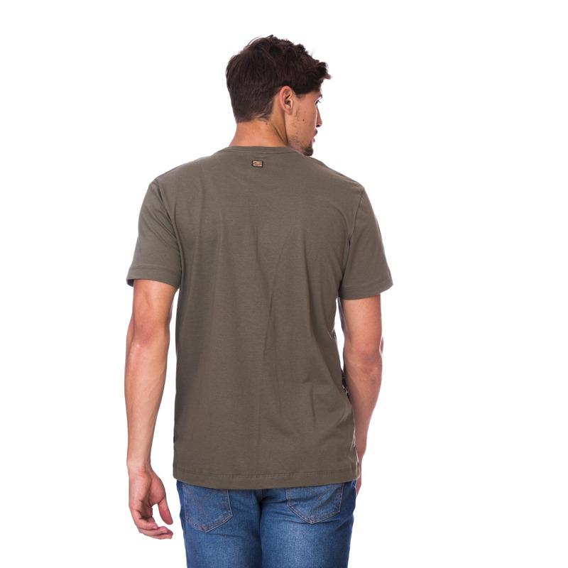 Camiseta Long Island Verde Militar