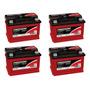 Kit 4 Baterias Estacionárias Freedom Df 1000 70 Amperes