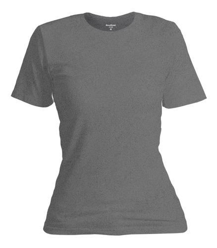 Camiseta Feminina Blusinha Moda Básica Algodão Confort Line® Original