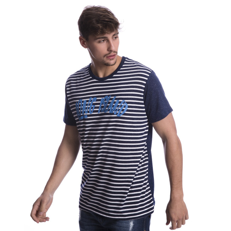 Camiseta Long Island Listrada Marinho