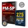 Combo Pm sp 2019 Soldado Pm 2ª Classe Apostila Livro Teste