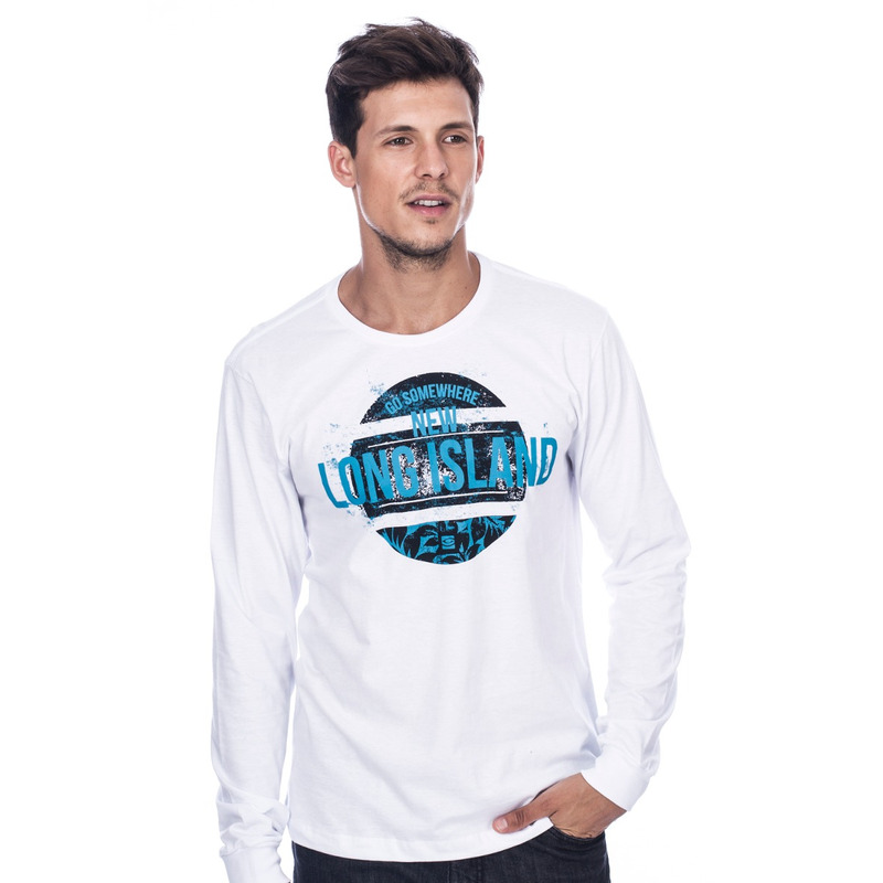 Camiseta Manga Longa New Branca