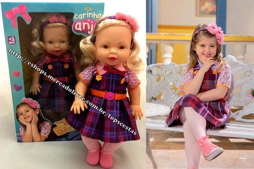 Boneca Dulce Maria Carinha De Anjo Sbt Original Baby Brink