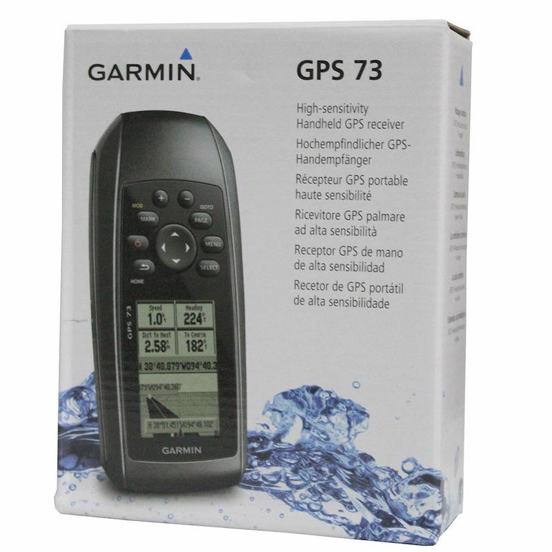 Garmin Gps 73 Portatil Com Sail Assist 010-01504-00 Original
