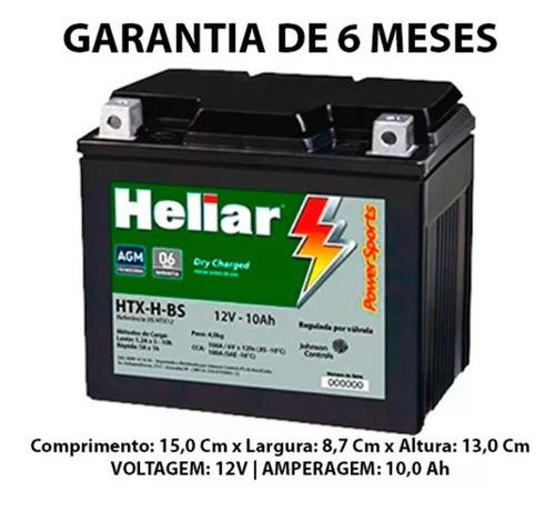 Bateria Yamaha Tdm 850 92..93 Heliar Htx12bs Ytx12-bs Original