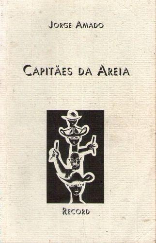 Livro Capitães Da Areia (record) Amado, Jorge Original