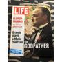 Revista Importada Life 72 Marlon Brando Mastroianni Skim Gam